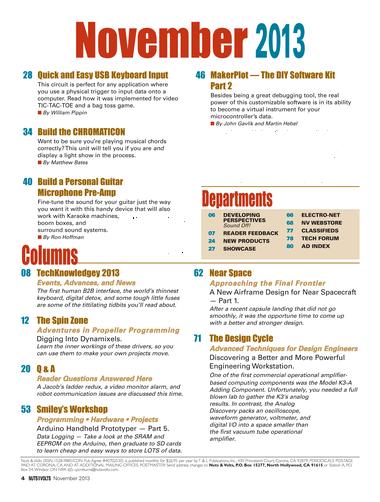 Nuts and Volts - November 2013 - Page 4-5